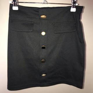 ミックスエックスミックス(mixxmix)のタイトスカート 黒(ミニスカート)