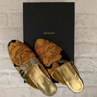 DRIES VAN NOTEN - DRIES VAN NOTEN Jacquard Slippers sz.36
