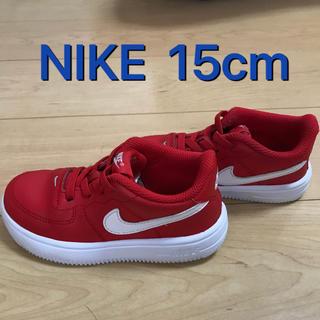 NIKE - NIKE   15cm   スニーカー 赤