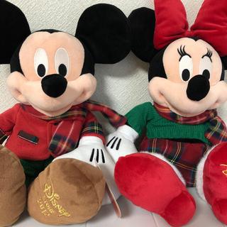 Disney - ミッキーマウス & ミニーマウスぬいぐるみ