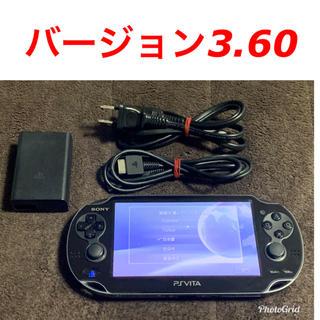 PlayStation Vita - vita 3.60 ブラック 送料無料 ②