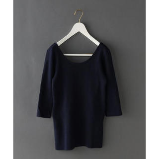 BEAUTY&YOUTH UNITED ARROWS - 6(ROKU) BIG THERMAL U-NECK カットソー◆