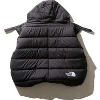 THE NORTH FACE - 黒 シェルブランケット Baby Shell Blanket NNB71901