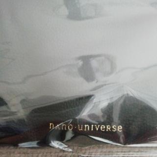 ナノユニバース(nano・universe)のnano. universe リバーシブルレザートートバッグ (エコバッグ)