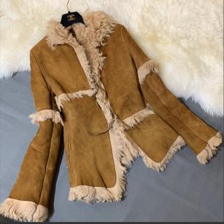ドゥーズィエムクラス(DEUXIEME CLASSE)のリアルムートンコート shearling イタリア製 上質羊毛皮使用(ムートンコート)