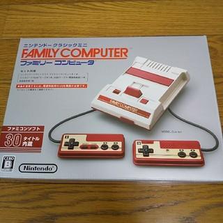 ファミリーコンピュータ - 未使用 Nintendo  ニンテンドークラシックミニ ファミリーコンピュータ