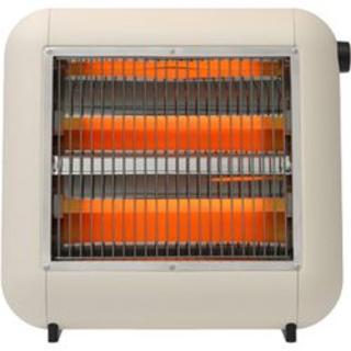 プラスマイナスゼロ(±0)の±0(プラスマイナスゼロ)遠赤外線電気ストーブ 深澤直人 デザイン (電気ヒーター)