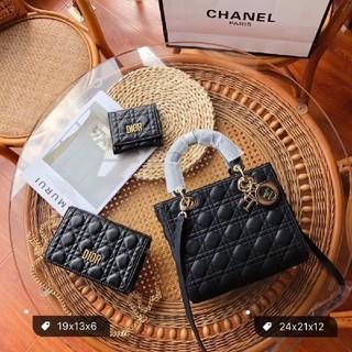 Dior - DIOR ハンドバッグ ショルダーバッグ 財布 大人気 3点セット
