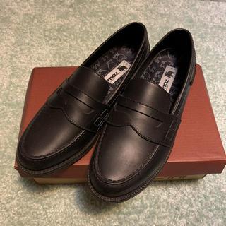 1回使用☆モズMOZレインローファー☆レインシューズ23cm(ローファー/革靴)