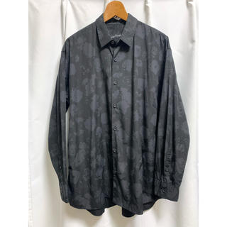 LAD MUSICIAN - 18aw 花柄 ビッグシャツ 42 ローズ柄