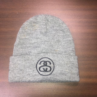 ステューシー(STUSSY)のニット帽子(ニット帽/ビーニー)