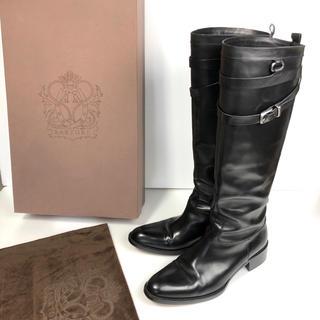 サルトル(SARTORE)の39 SARTORE ロングブーツ  黒 サルトル 大きいサイズ(ブーツ)