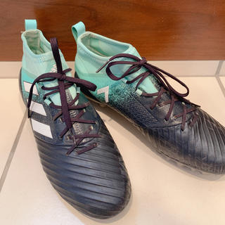 adidas - adidas サッカースパイク グリーン×ブラック US8