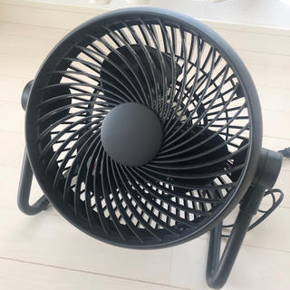 MUJI (無印良品) - 良品計画サーキュレーター扇風機ブラック黒無印良品MUJI
