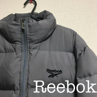リーボック(Reebok)の90s 古着 Reebok オーバーサイズダウン グレー(ダウンジャケット)