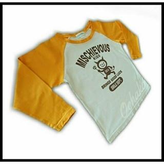 サンカンシオン(3can4on)の☆ SIZE : 100 / 3can 4on  バックプリント付Tシャツ ☆(Tシャツ/カットソー)