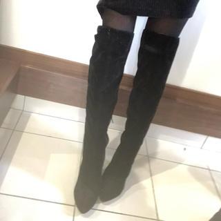 新品ニーハイ黒LL(ブーツ)