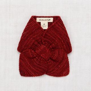 キャラメルベビー&チャイルド(Caramel baby&child )の新品未使用 Misha&Puff Sledding scarf(brick)(マフラー/ストール)
