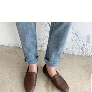 ロクロクガールズ(66girls)の66GIRLS ローファー  ダークブラウン  23cm 韓国(ローファー/革靴)