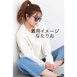 チャンピオン(Champion)の大人気!チャンピオン白サーマルロンT ワッフル Lサイズ(Tシャツ(長袖/七分))