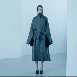 stein lay oversized overlap coat