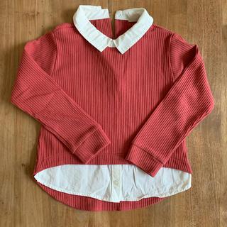 プティマイン(petit main)のpetit main 110cm 長袖シャツ(Tシャツ/カットソー)