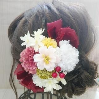 髪飾り♡成人式/卒業式/結婚式(ヘアピン)