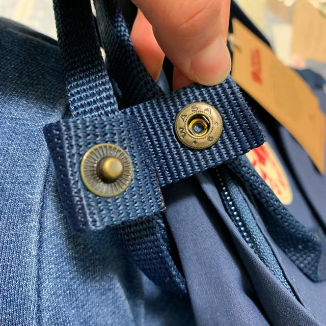 FJALL RAVEN(フェールラーベン)のカンケン ミニ 新品 ロイヤルブルー キッズ/ベビー/マタニティのこども用バッグ(リュックサック)の商品写真