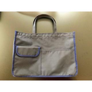 ハッピークローバー 紺色ナイロン製 レッスンバッグ お稽古バッグ