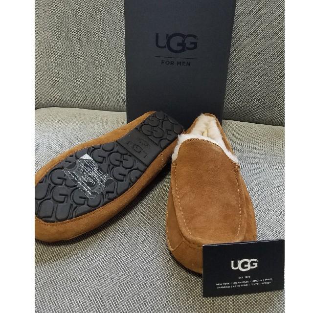 UGG(アグ)の新品未使用 UGG アスコット メンズ モカシン♪ メンズの靴/シューズ(スリッポン/モカシン)の商品写真