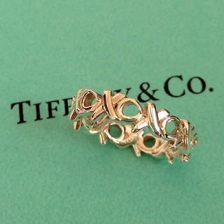 Tiffany & Co. - 美品 ティファニー ラブ&キス リング 8号 廃盤品