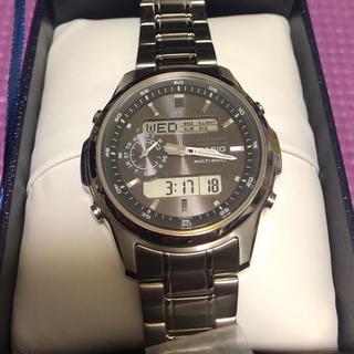 カシオ(CASIO)のCASIO 腕時計 リニエージ 電波ソーラー LCW-M300D-1AJF (腕時計(デジタル))