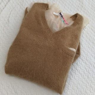 サカイラック(sacai luck)のサカイラック美品アンゴラニット(ニット/セーター)