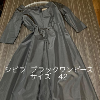 Sybilla - ★美品★シビラ  ロングワンピース ブラック サイズ42