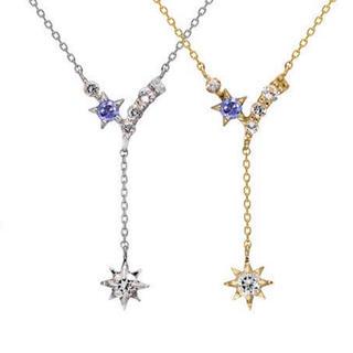 STAR JEWELRY - K10YG クリスマス限定ネックレス