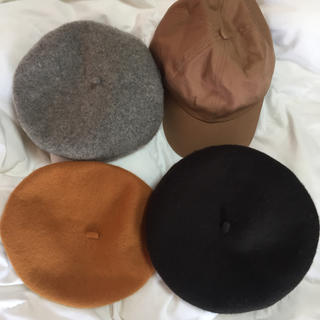 レディース帽子4点セット