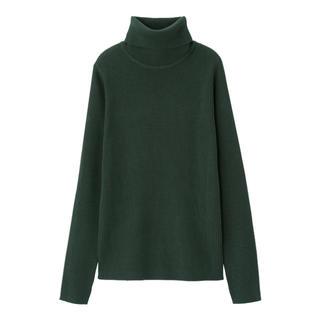 GU - GU リブタートルネックセーター