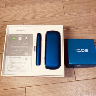 アイコス(IQOS)のiQOS3 ブルー 本体 売り切り(タバコグッズ)