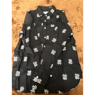 コーエン(coen)のcoen noma刺繍シャツ(シャツ/ブラウス(長袖/七分))