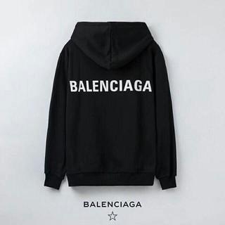[2枚12000円送料込み]balenciaga長袖 パーカー 男女兼用