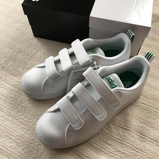 アディダス(adidas)のアディダス バルクリーン 白×緑 23.5(スニーカー)
