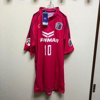 ミズノ(MIZUNO)の未使用 セレッソ大阪 2015年 #10 フォルラン選手 ユニフォーム 2XO(応援グッズ)