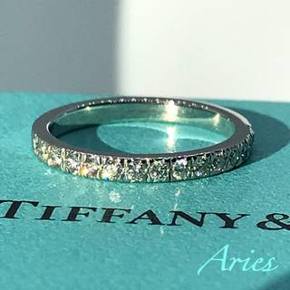 Tiffany & Co. - ティファニー  ノヴォ ハーフサークル ダイヤモンド リング