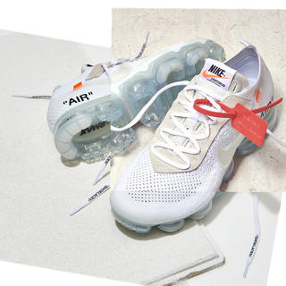 オフホワイト(OFF-WHITE)のTHE 10 /  NIKE AIR VAPORMAX FK White(スニーカー)