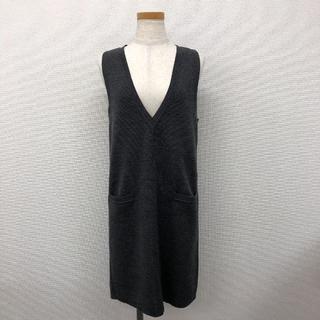 UNITED ARROWS - 【試着のみ】UNITED ARROWS ウールミラノリブジャンパースカート