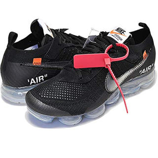 オフホワイト(OFF-WHITE)のTHE 10 / W NIKE AIR VAPORMAX FK BLK(スニーカー)