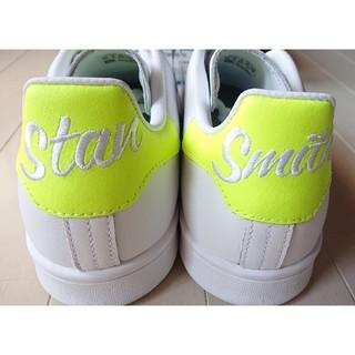 アディダス(adidas)のアディダス★スタンスミス EE5820 白×ソーラーイエロー 26.5★新品(スニーカー)
