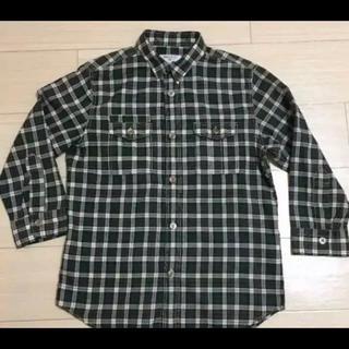 エディフィス(EDIFICE)のエディフィス 七分丈 チェックシャツ(シャツ)