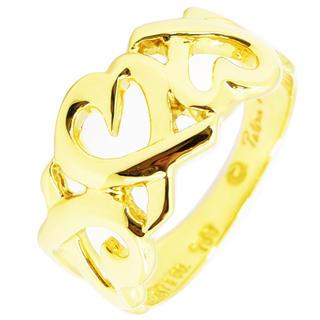 ティファニー(Tiffany & Co.)のティファニー リング トリプルラビングハート  指輪 パロマピカソ 約6.5号(リング(指輪))