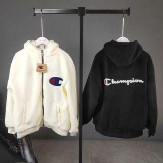 チャンピオン(Champion)のChampion ボアジャケット(ナイロンジャケット)